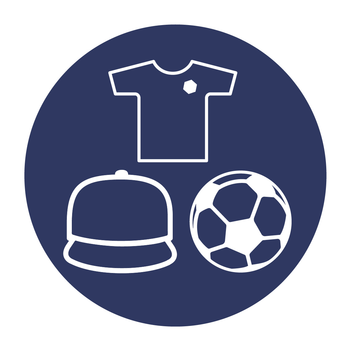 Casquette/logo/ballons